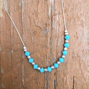 Jewelry - Sterling Silver & Turquoise Necklace
